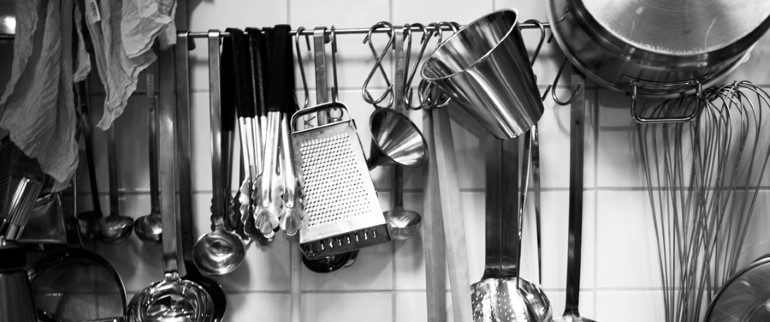 Tools in the kitchen