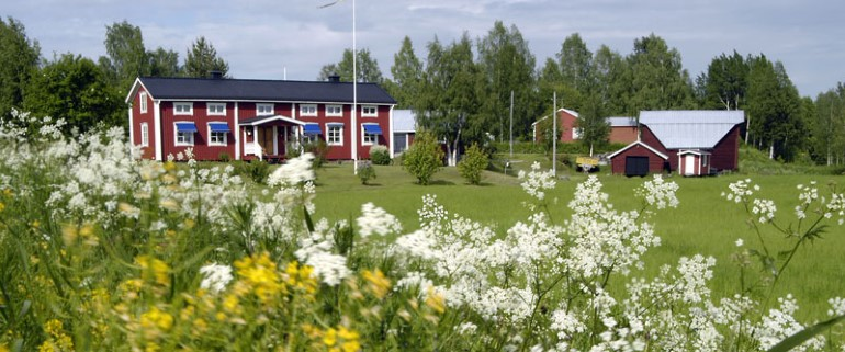 Typical farm from Norrbotten