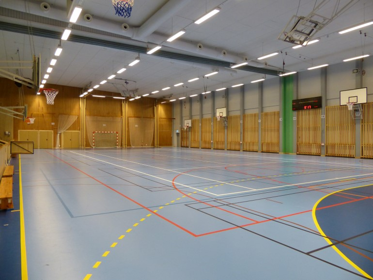 Pitholm Sporthall A-hall